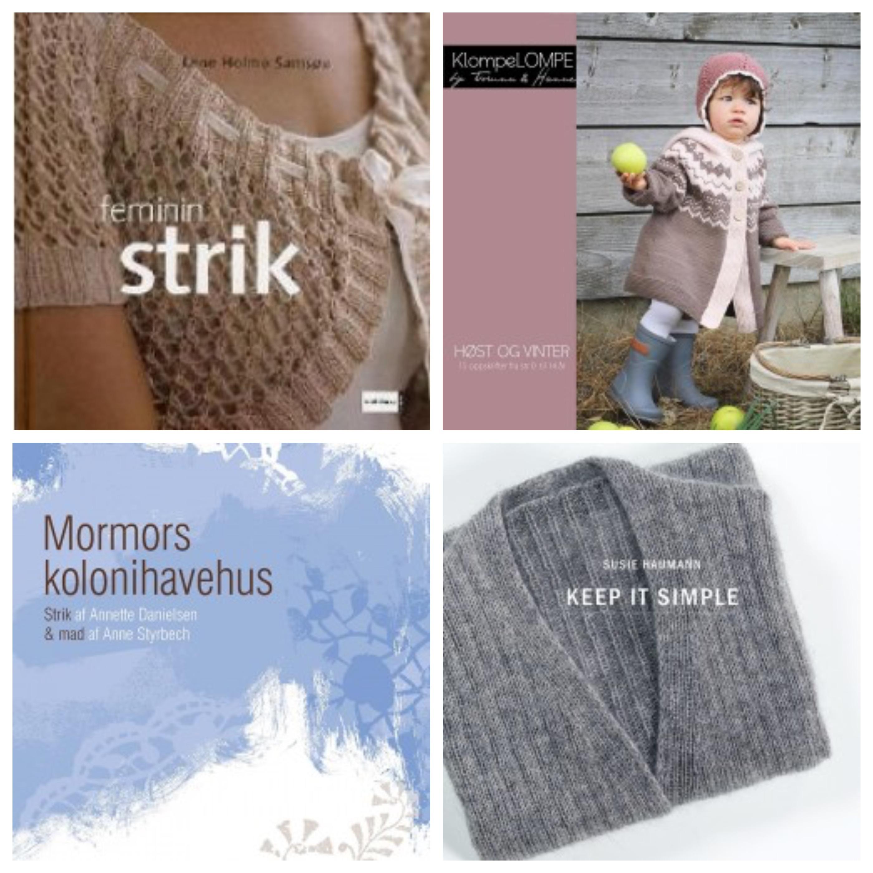 Billige strikkebøger