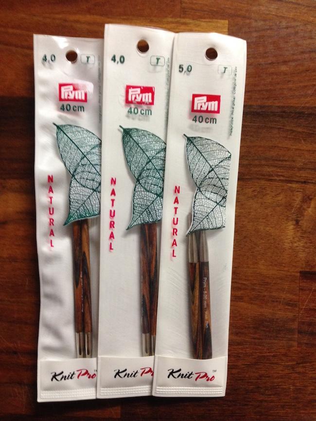 Knit Pro runde spidser - korte
