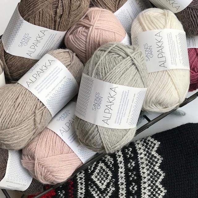 Alpakka I Udgåede farver | Spar 25%