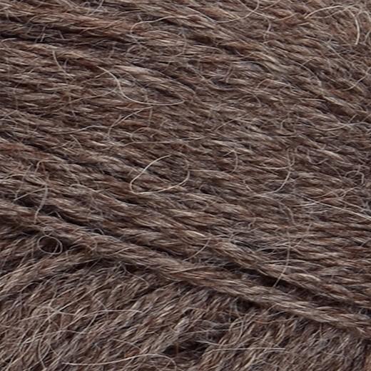 Sandnes Alpakka-Mellembrun meleret 2652-31