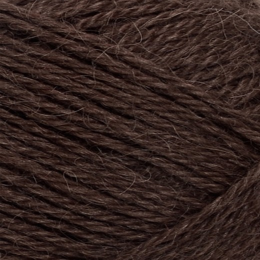 Mini Alpakka-Mørk Brun 4071-31