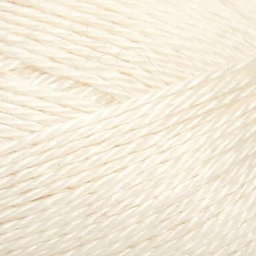 Alpakka/silke | Hvid 1002-31