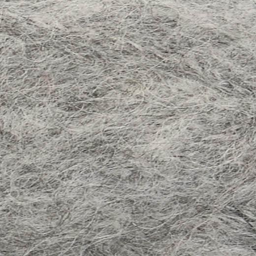 Børstet Alpakka-Grå meleret 1042-31