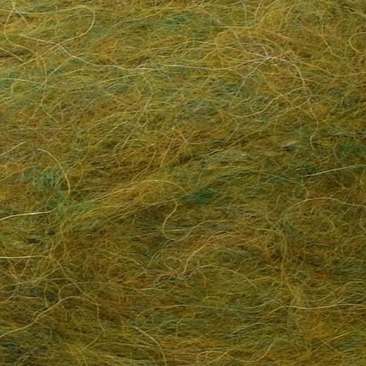 Børstet Alpakka-Bladgrøn 9645-31