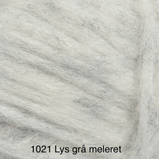KOS lysgrå meleret 1021