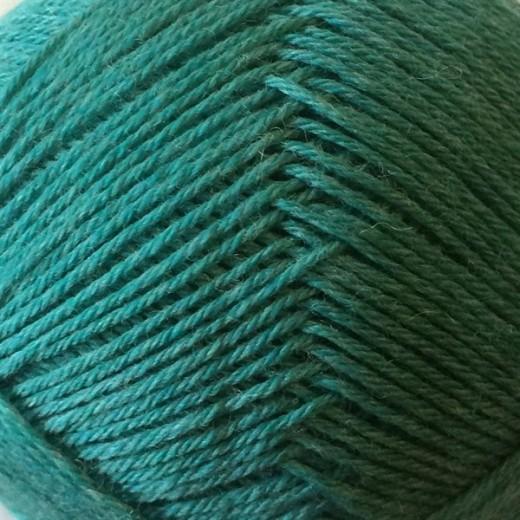 Yaku -100% kradsfri Merinould-Tyrkis/grøn 1584