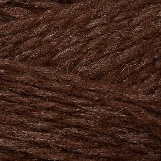 Sandnes Fritidsgarn-Mørk Brun 4071-31