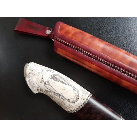 Kniv med løve