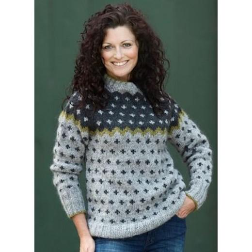 Korssweater i Hjelholt Håndværksgarn-31