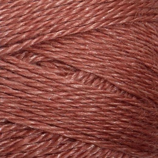 Alpakka/Silke | Varm Brun 3543