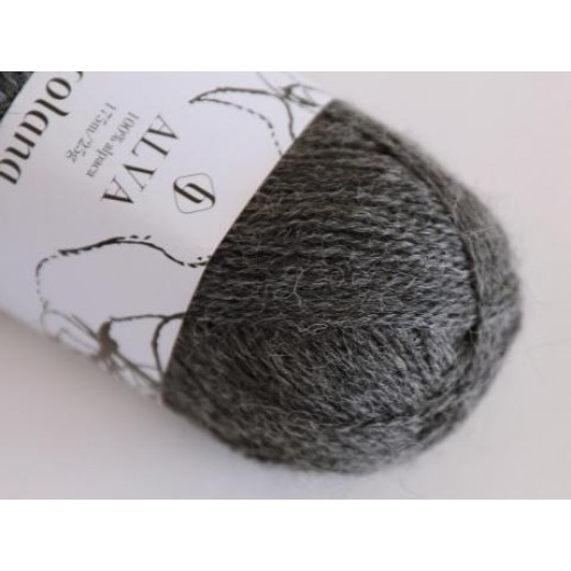 Alva | 402 Medium Grey (melange)