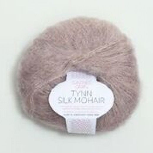 Tynd Silk Mohair 57% mohair, 15% uld og 28% Silke-31