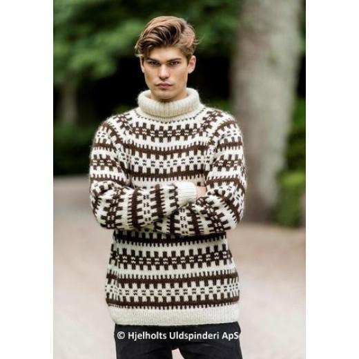Unisex retro islandssweater