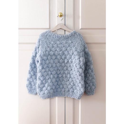 Sweater med bobler-31