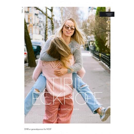 Tiril sweater med hulmønster-35