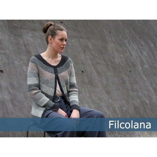 Todbjerg cardigan Pernilla fra Filcolana