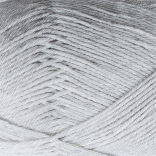 Yaku -100% kradsfri Merinould-Askgrå 1011