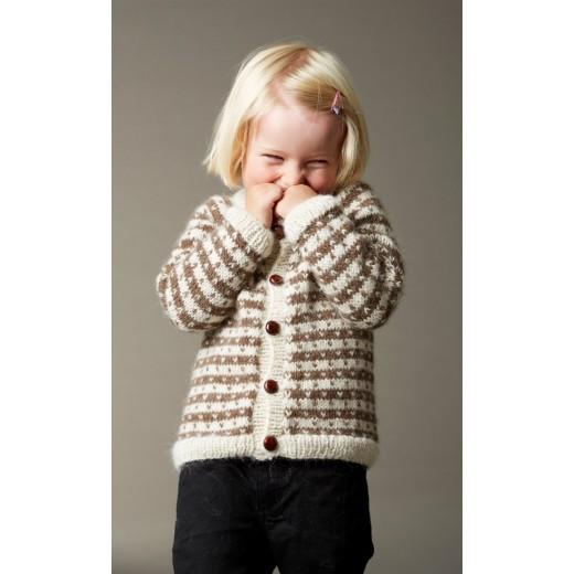 458d63fbb4e518 Baby cardigan med lus fra CaMaRose - Lisbjerg Garn Aarhus N