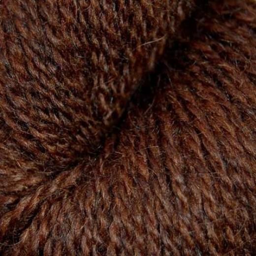 Hjelholt Håndværksgarn | 12 - Kastaniebrun
