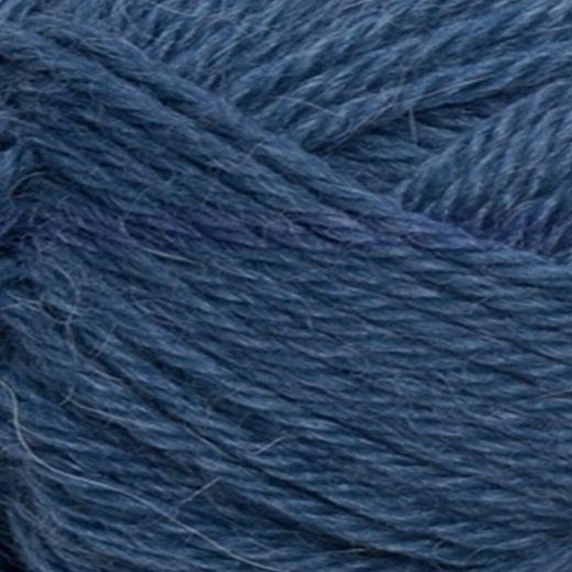 Alpakka Uld - 65% Alpakka 35% Uld-6364 Blå