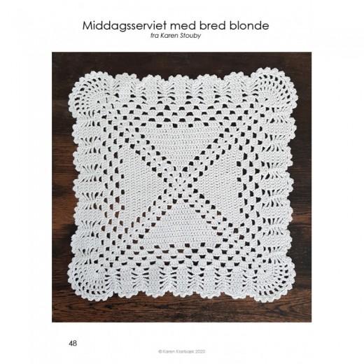 """Hæklebog """"Karen Klarbæks Servietsamling 2""""-31"""