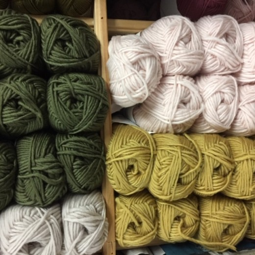 Lun uld fra Sandnes Garn kun 35 kr