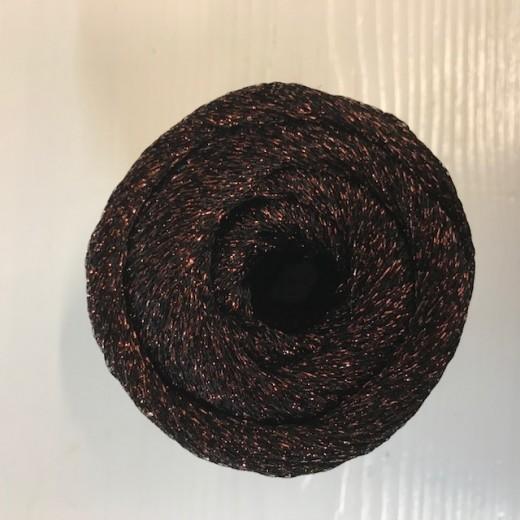 Paia - Glimmergarn-706 mørk brun