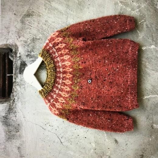 Tweedie Sweater - Rosa fixen