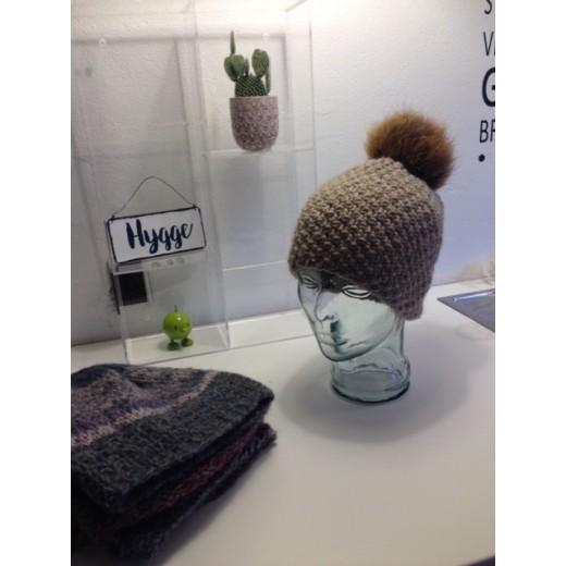 Færdig strikket Maryhue