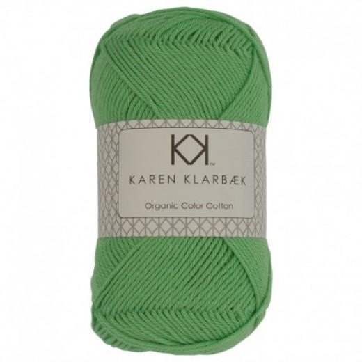 Karen Klarebæk Bomuld 8/4-Lime Grøn 15-31