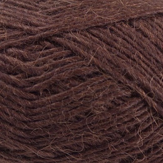 Lamauld fra CaMaRose-Mørkebrun-31
