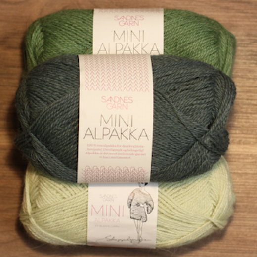 Mini Alpakka 100% Alpakka-333