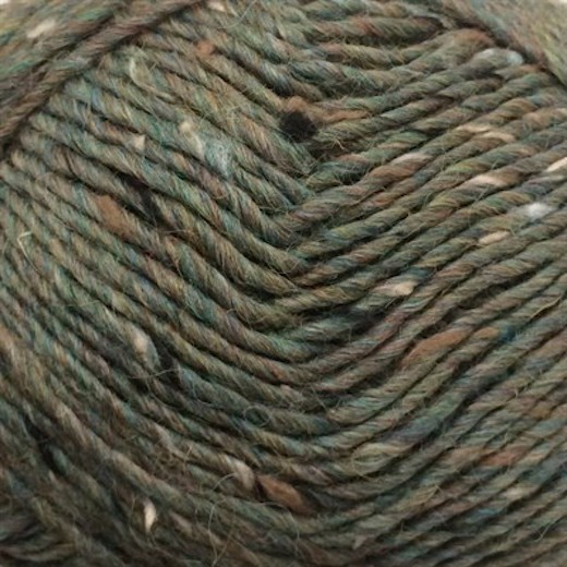 Tweed CaMaRose-Påfugl 6448-31