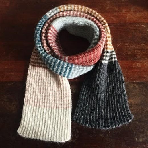 Pixen´s Roulade Dit Yndlings Stribede Tørklæde