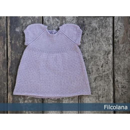 Camille - fin babykjole med puf-ærmer