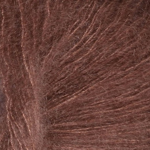 Sandnes Tynd Silk Mohair-Støvet Brun 4062