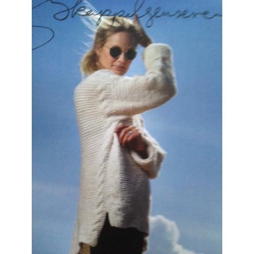 Sweater med snoninger fra Skappel-33