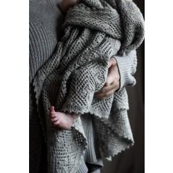 Løvfald babytæppe