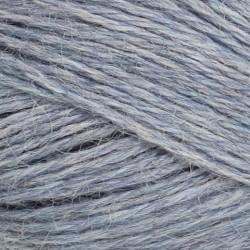 Mini Alpakka-Lys Blåmeleret 6221-20
