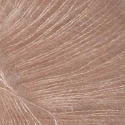 Tynd silk mohair pudder rosa 3511