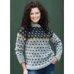 Korssweater i Hjelholt Håndværksgarn-20