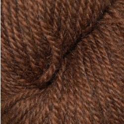 Hyrdegarn I Mørkbrun 06