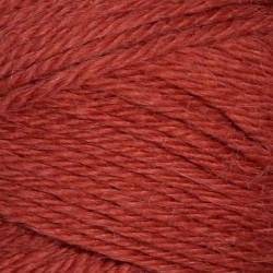 Alpakka/Uld | Mørk Terrakotta 4035