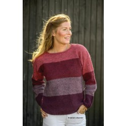Rødstribet Sweater