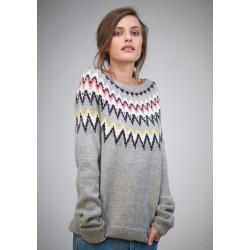 Sweater med rundt bærestykke-20