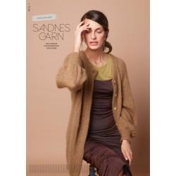 Luftig lang jakke strikkeopskrift