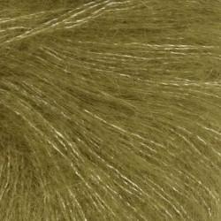Sandnes Tynd Silk Mohair-Oliven grøn 9850