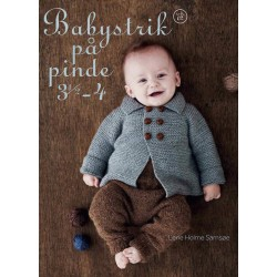 Baby strik på pind 3,5 4-20