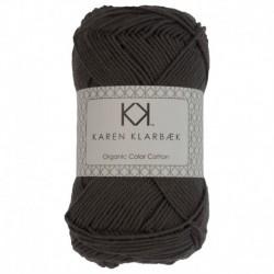 Karen Klarebæk Bomuld 8/4-Charcoal 27-20