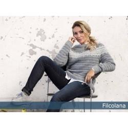 Foss - en klassisk sweater med nordisk mønster